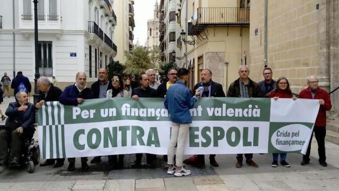 La Crida pel Finançament presenta el manifest «El País Valencià contra l'espoli»